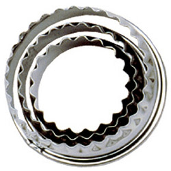 Tala Crinkled Pastry Cutters Set 3