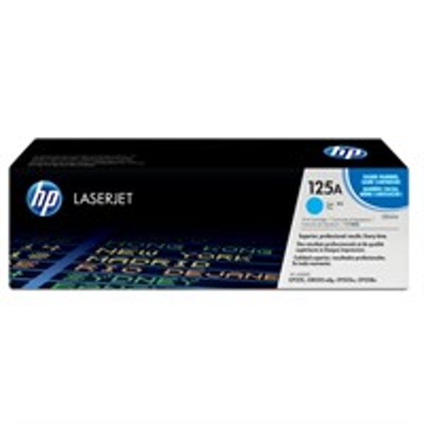 HP CB541A (125A) Toner cyan, 1.4K pages