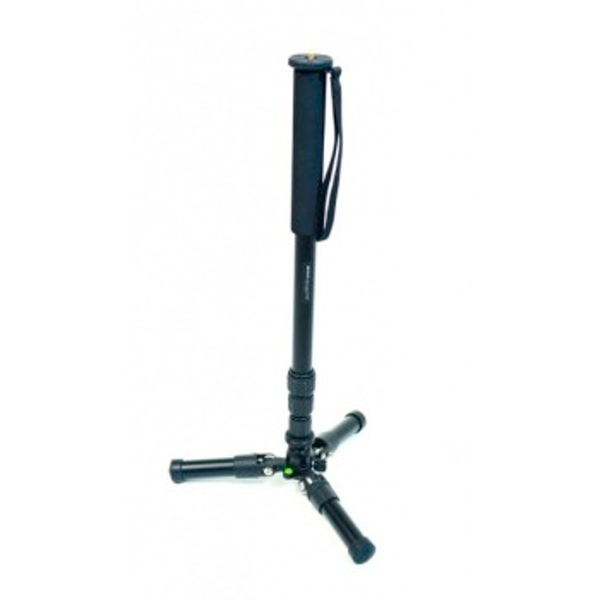 "Braun Photo Technik""M4"" Monopod, set of monopod, mini pod, spikes, rubber shoes and bag"