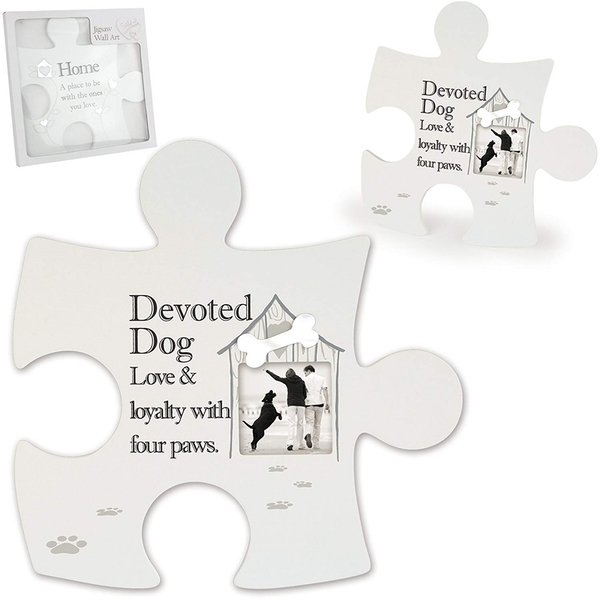 Said with Sentiment Jigsaw Wall Art Devoted Dog