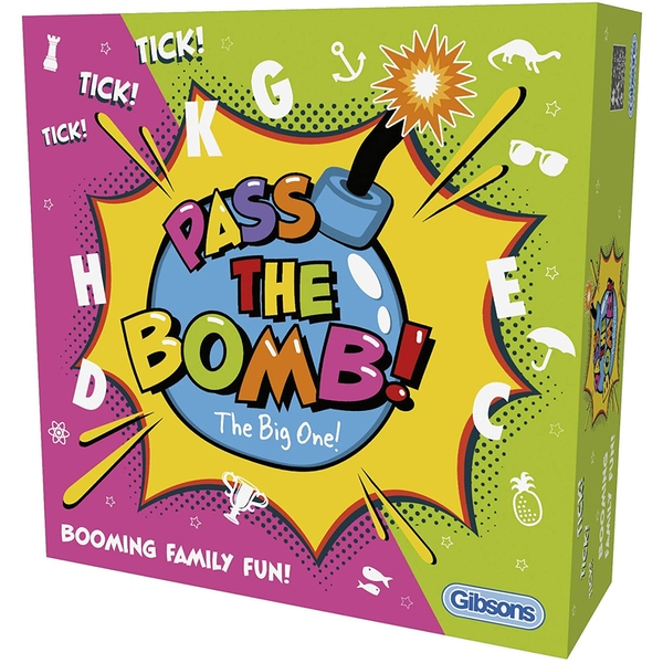 Gibsons Pass the Bomb The Big One Board Game