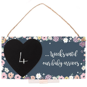 Baby Countdown Plaque