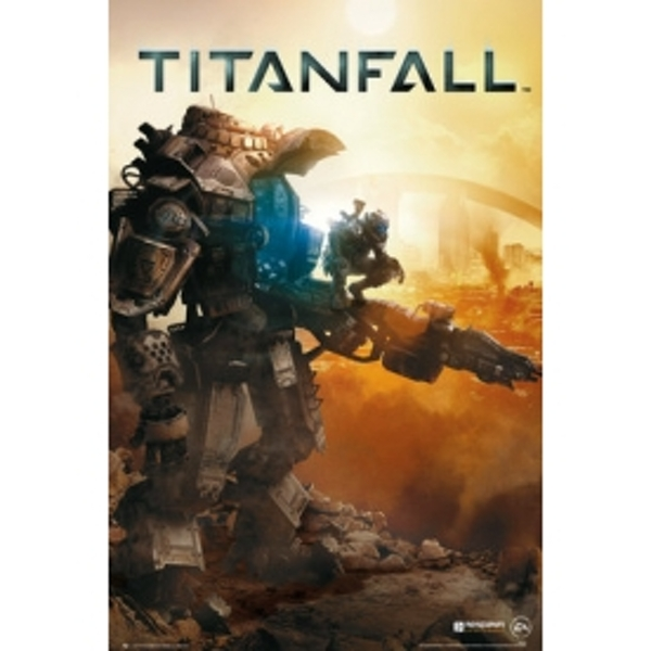 Titanfall Cover Maxi Poster