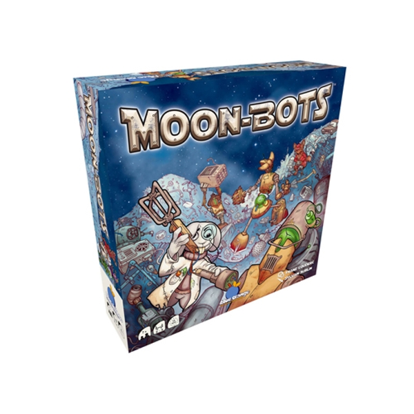Moon Bots Board Game