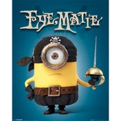Minions (eye Matie) Mini Poster