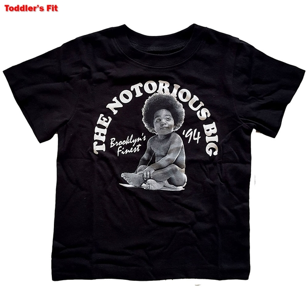 Biggie Smalls - Baby Kids 5 Years T-Shirt - Black