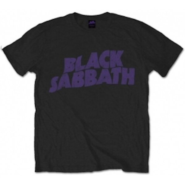 Black Sabbath - Vintage Way Logo Men's X-Large T-Shirt - Black