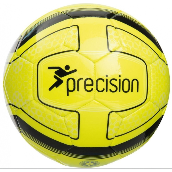 9d5ef22ee Hey! Stay with us... Precision Santos Training Ball Fluo Yellow/Black Size 4
