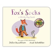 Fox's Socks by Julia Donaldson (Board book, 2015)
