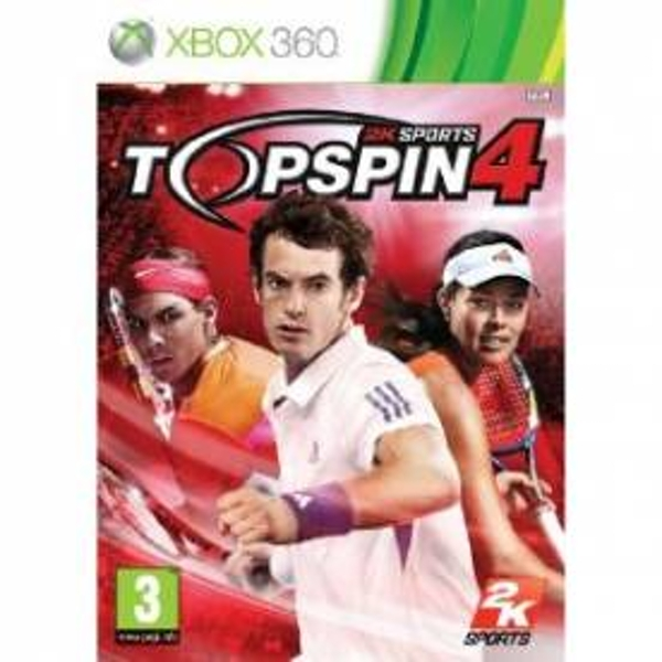 Top Spin 4 Game Xbox 360 - Image 1