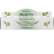 6 Packs of Elements Lily of the Valley Incense Sticks