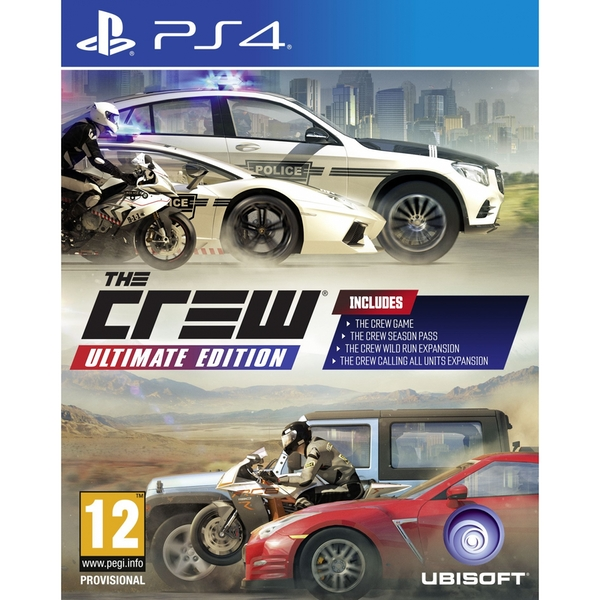 The Crew Ultimate Edition PS4 Game [Used] - Image 1
