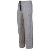 Nike Fleece Open Hem Tracksuit Bottoms Jog Pants Black Large Grey