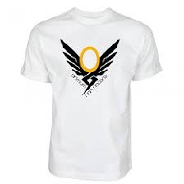 Overwatch Mens Mercy Emblem Logo XX-Large White T-Shirt