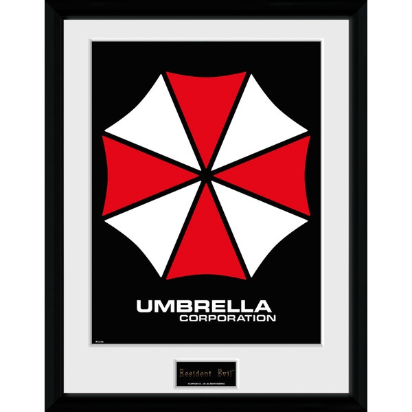 Resident Evil Umbrella Collector Print