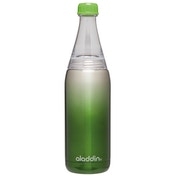 Aladdin Fresco Twist & Go Bottle - Stainless Steel Vacuum 0.6L Green