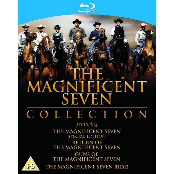The Magnificent Seven Collection Blu-ray