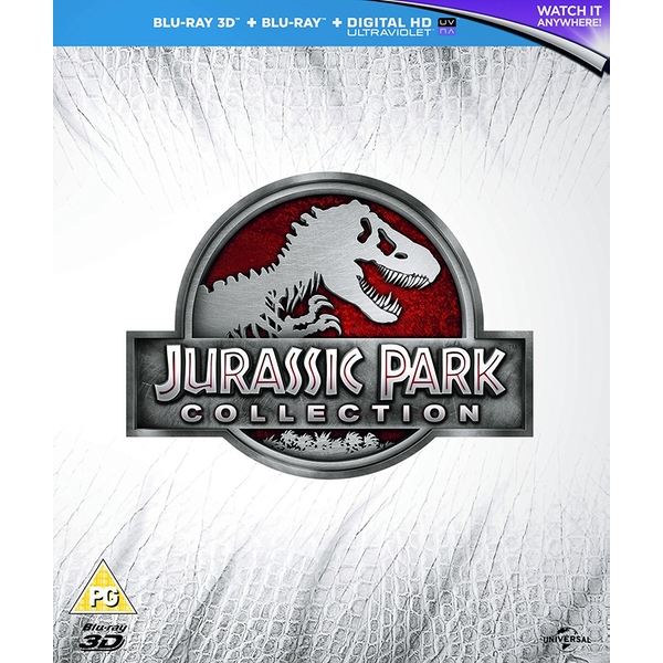 Jurassic Park Premium Collection Blu-ray   UV