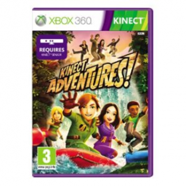Kinect Adventures! Game Xbox 360