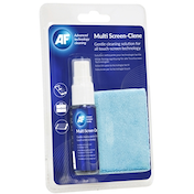 AF Multi-Screen Clene Travel Pack 25ml Pump Spray and Cleaning Cloth