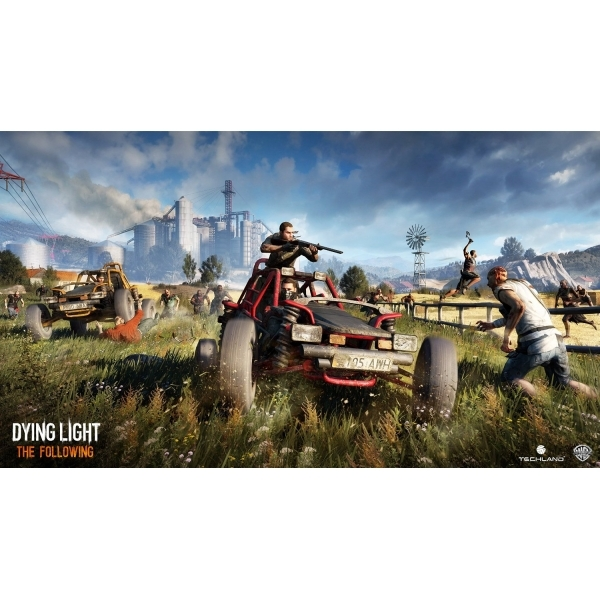 Dying Light The Following Enhanced Edition PS4 Game - Image 2