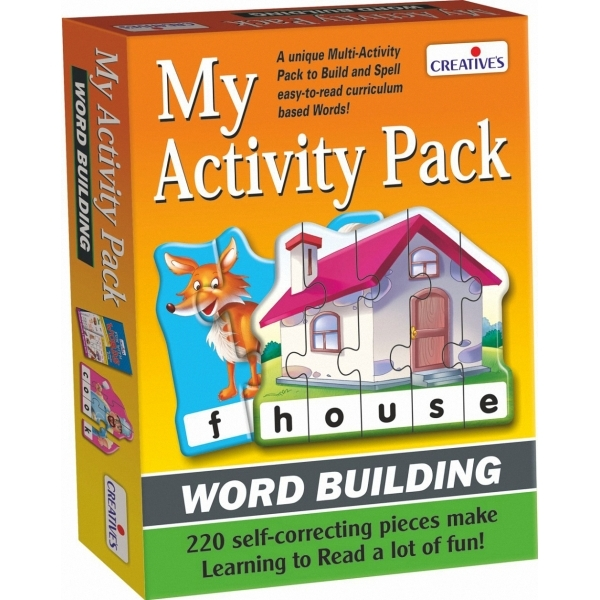 Creative Games - My Activity Pack - Word Building