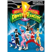 Mighty Morphin Power Rangers Complete Season 2 Collection DVD