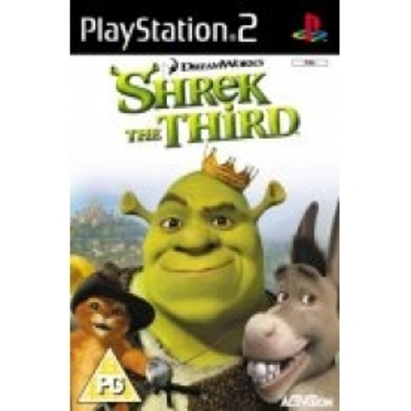 Ex-Display Shrek The Third Game PS2 Used - Like New