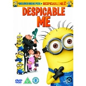 Despicable Me + Despicable Me 2 Sneak Peek DVD