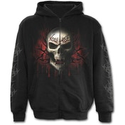 Game Over Full Zip Men's Large Hoodie - Black