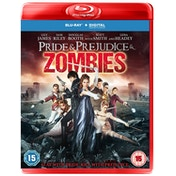 Pride & Prejudice & Zombies Blu-Ray + Digital Download