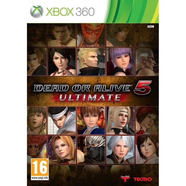 Dead or Alive 5 Ultimate Game Xbox 360