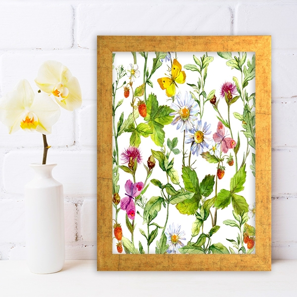 AC254017726 Multicolor Decorative Framed MDF Painting