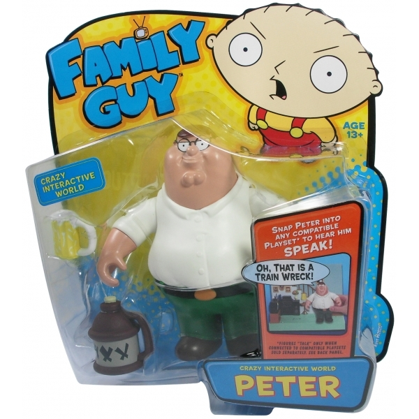 Family Guy Peters Toy Design : Family guy quot interactive peter figure shop es