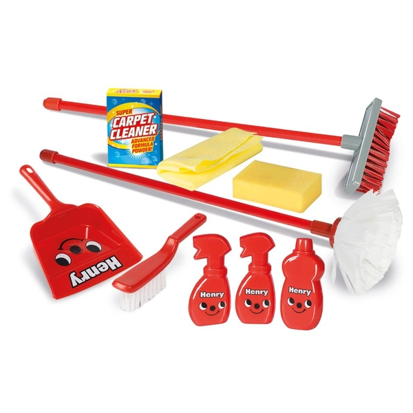 Cadson - Childrens Henry Cleaning Playset