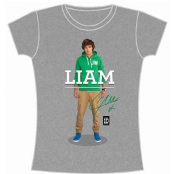 One Direction Liam Standing Pose Skinny Grey TS: Large