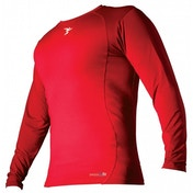 PT Base-Layer Long Sleeve Crew-Neck Shirt Small Red