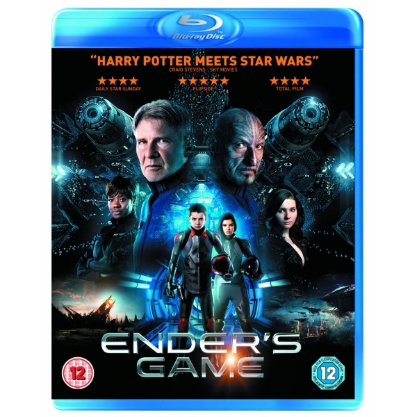 Enders Game Blu-ray - ozgameshop.com