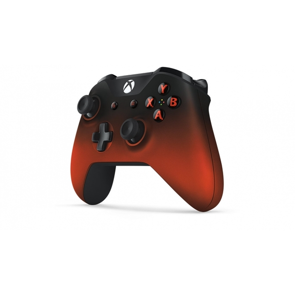Red Volcano Shadow Wireless Xbox One Controller - Image 3
