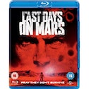 The Last Days on Mars Blu Ray