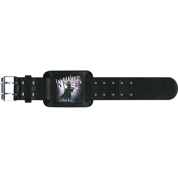 In Flames - The Mask Leather Wrist Strap
