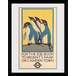 """Transport For London Zoo 12"""" x 16"""" Framed Collector Print - Image 2"""