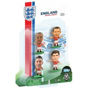 SoccerStarz England 4 Player Blister Pack A Figures