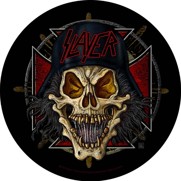 Slayer - Wehrmacht Circular Back Patch