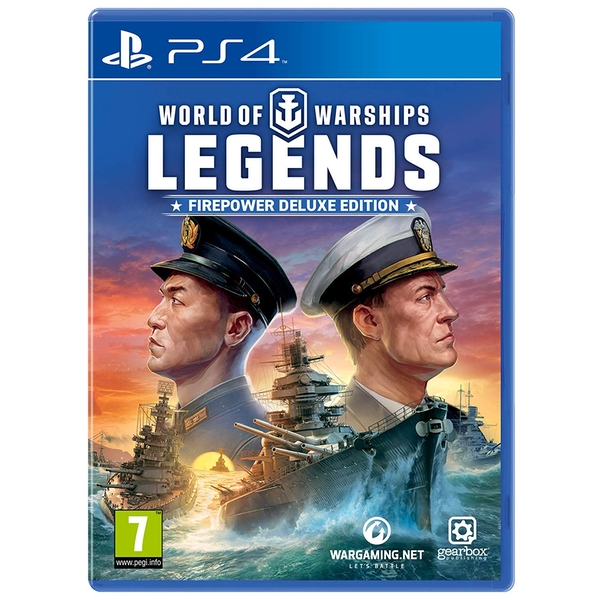 World of Warships Legends PS4 Game