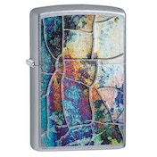 Zippo Rust Patina Chrome Regular Windproof Lighter