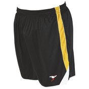 Precision Roma Shorts Junior Black/Amber/White - M/L Junior 26-28""
