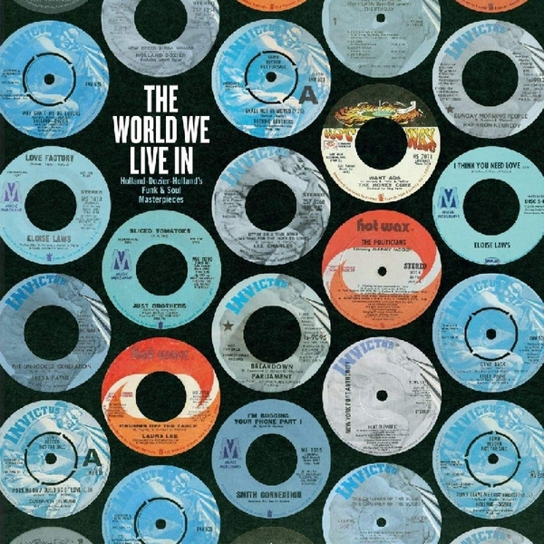 Various Artists - The World We Live In Dozier. Holland Vinyl