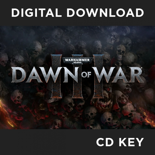 Warhammer 40,000 Dawn Of War III PC CD Key Download for Steam - Image 1