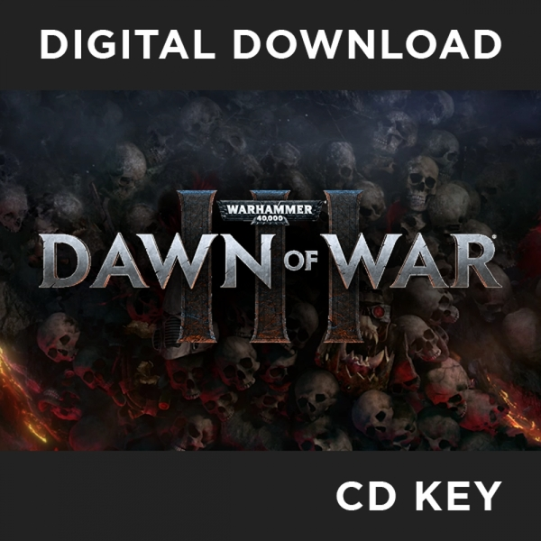 Warhammer 40,000 Dawn Of War III PC CD Key Download for Steam